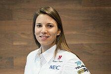 Formel 1 - Simona de Silvestro: Sitzanpassung bei Sauber
