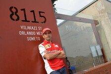 Formel 1 - Emotionaler Moment: Marc Gene besucht Nelson Mandelas Haus