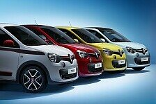 Auto - Renault pr�sentiert dritte Generation : Neuer Twingo mit f�nf T�ren und Heckantrieb