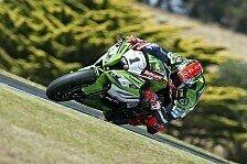 Superbike - Weltmeister Sykes l�sst Muskeln spielen: Kawasaki dominiert Superpole in Aragon
