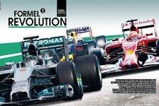 Formel 1 - Neues Heft, neuer Wahnsinn: Jetzt neu: Die Formel-1-Revolution erkl�rt