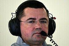 Formel 1 - Red Bull und Mercedes als Hoffnungsschimmer: Boullier: McLarens Erfolg braucht seine Zeit