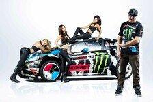 WRC - Bilder: Ken Block rockt 2014: Girls, Girls, Girls!