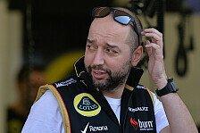 Formel 1 - Konzentration auf 2015: Lotus: Chassis-Probleme nicht zu beheben