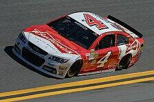 NASCAR - Logano startet aus der ersten Reihe: Der achte Pole-Award geht an Harvick