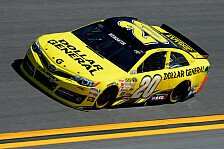 NASCAR - Keselowski zum dritten Mal in Folge Zweiter: Kenseth steht in Fontana auf Pole Position