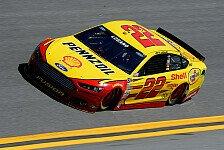 NASCAR - Erneut stehen zwei Penske-Ford in Startreihe eins: Las-Vegas-Pole f�r Logano