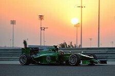 Formel 1 - Einsatz im ersten Freien Training und Test: Frijns f�hrt in Bahrain f�r Caterham