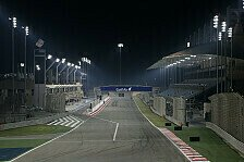 Formel 1 - Bahrain: Strecke unter Flutlicht