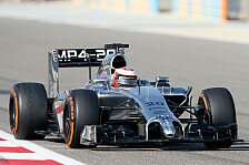 Formel 1 - Test-Highlights: McLaren