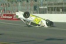 NASCAR - Rookie Kligerman landet auf dem Dach: Heftiger Unfall in Daytona