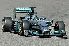 Formel 1 - Test-Highlights: Mercedes