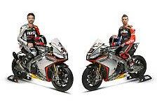 Superbike - RSV4 mit neuem Design: Aprilia mit Silbergeschoss zum Titel?