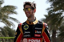 Formel 1 - Video: Quer geht mehr: Grosjean on ice