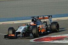 Formel 1 - Bilder: Test-Highlights: Force India