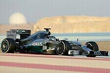 Formel 1 - Rosberg und Mercedes dominieren Testfinale: Bahrain: Tag 4 im Live-Ticker
