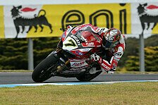 Superbike - Start aus vierter Reihe wird nicht leicht: Davies im Kampf mit den Reifen