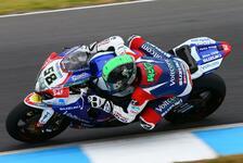 Superbike - R�nge acht und neun f�r Laverty und Lowes: Suzuki k�mpft mit Problemen