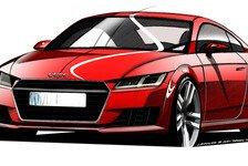Auto - Athletischer Sportler im kompakten Format: Audi pr�sentiert den neuen TT in Genf