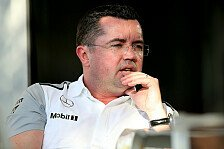 Formel 1 - Radikalere Konzepte m�glich: Boullier: Nach Silverstone kommt der Schnitt