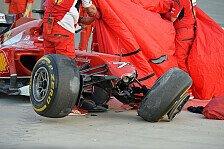 Formel 1 - Bilder: Bahrain I - R�ikk�nen-Unfall