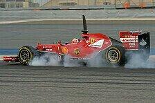 Formel 1 - Konstanter und haltbarer: Bahrain: Die Testfahrten aus Pirellis Sicht