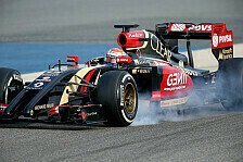 Formel 1 - Test-Highlights: Lotus