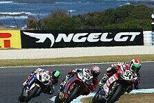 Superbike - Giugliano gl�cklich, Davies wollte mehr: Ducati punktet souver�n