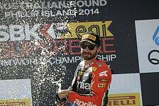 Superbike - Melandri nach zweitem Rennen entt�uscht: Guintoli: Reifenschonen zahlt sich aus