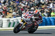 Superbike - Viel Arbeit am Chassis: Pata Honda schlie�t Test in Cartagena ab