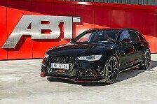 Auto - Rennwagen f�r die Stra�e: ABT Sportlines Monster-Audi RS6 mit 730 PS