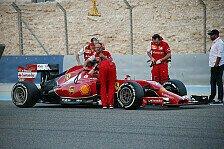 Formel 1 - Kimi bleibt liegen - Red Bull steht erneut: Bahrain II: Tag 1 im Live-Ticker