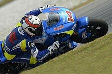 MotoGP - Haben bei null begonnen : Suzuki k�mpft bei Tests mit Elektronik