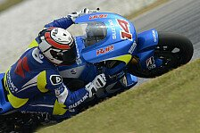MotoGP - Suzuki kämpft bei Tests mit Elektronik