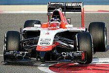 Formel 1 - Test-Highlights: Marussia
