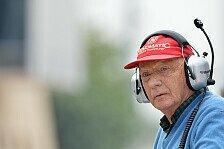 Formel 1 - Ferrari immer noch gleichauf: Lauda: Mercedes ist das Ma� aller Dinge