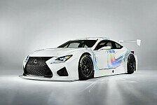 Mehr Sportwagen - Kundeneins�tze ab 2015 m�glich: Lexus enth�llt seinen GT3-Boliden