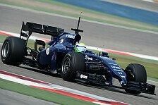 Formel 1 - Kampfansage auf brasilianisch: Massas Super-Zeit: Schneller als Mercedes