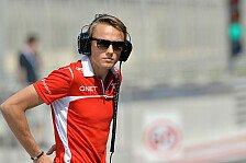 Formel 1 - Champagner w�re sch�n: Max Chilton: Ersten Punkt im Visier