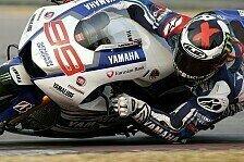 MotoGP - Am Ende ziemlich gl�cklich: Lorenzo geht auf Nummer sicher