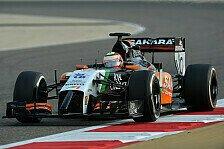 Formel 1 - Deb�t f�r Force India: Sergio Perez: Bereit f�r Melbourne