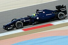 Formel 1 - Vettels Testalptraum: Vier Kurven, dann war Schluss : Bahrain II, Tag 3: Massa f�hrt Bestzeit