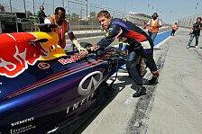 Formel 1 - Die Leistung ausnutzen: Geplagte Seelen: Renault gibt mehr Power frei