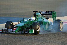 Formel 1 - Test-Highlights: Caterham