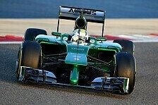 Formel 1 - �ber Zuverl�ssigkeit ans Ziel?: Testbilanz: Hausaufgaben gemacht, Caterham?