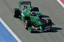 Formel 1 - Positive Vorzeichen: Caterham: Angriff durch Zuverl�ssigkeit