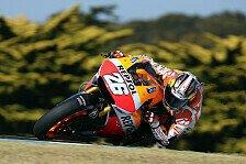 MotoGP - Erster Tag produktiv, Ergebnisse geheim: Pedrosa gew�hnt sich an Phillip Island