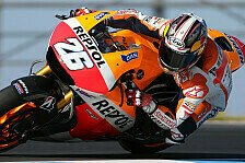 MotoGP - Es liegt an Bridgestone: Pedrosa: Kein gutes Experiment