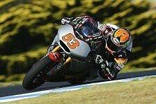 Moto2 - Neuer Rekord und Crash f�r Rabat: Marc VDS beendet Reifentest