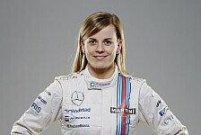 Formel 1 - Teams haben kein Vertrauen: Ecclestone zweifelt an GP-Start von Susie Wolff
